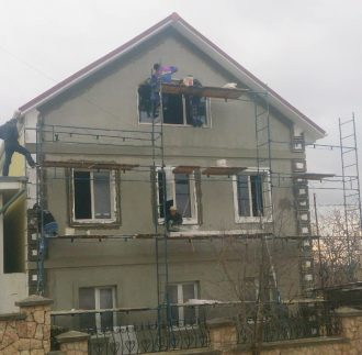 Утепление фасадов